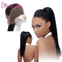 Wholesale Pcs Parts - 1 Pc 13X4X2 Size 360 Straight Lace Frontal Closure Unprocessed Brazilian Human Hair Natural Color Straight Brazilian Human Hair Bundles