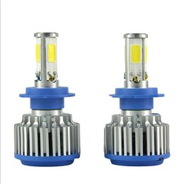 Wholesale H7 Led Headlight Cree - Newest 80W Car LED Lamp 9600LM Auto H4a H7 H8 H9 H11 9005 9006 cree Headlight bulbs kits Headlight