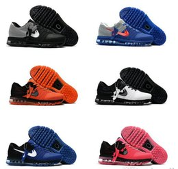 Wholesale Cheap Men Name Brand Shoes - 2017 Maxes Kpu Running Shoes Men Man Cheap Gold Mens Maxes Trainers Sport Brand Names Shoe Zapatillas Deportivas Homm Sneakers Maxes Size 47