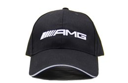 Wholesale Racing Sun - Good Quality Snapback Hat F1 Champion Racing Sports    AMG Automobile Trucker Men Hats Adjustable Golf Cap Sun Trucker Hat
