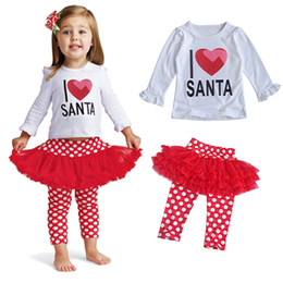 Wholesale Next Kids Clothing Wholesalers - Baby clothes Toddler Girl Clothing Set Fall Autumn Newborn Infant Boutique Outfit Suit Long Sleeve Shirt Trouser Black Pant Next Kid costume