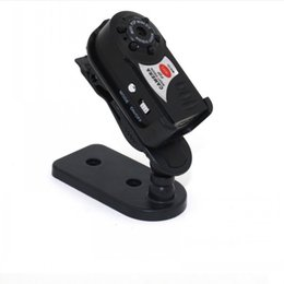 lente de orificio 3.7mm cctv mini cámara Rebajas Q7 Mini Wifi DVR Videocámara IP Inalámbrica Cámara Grabadora de Video Cámara Infrarroja de Visión Nocturna Micrófono Incorporado no memerycard envío gratis