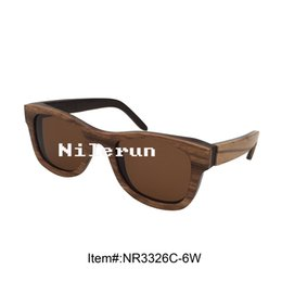 Wholesale Layers Sunglasses - unisex multi layer wood frame sunglasses