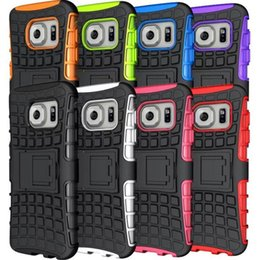Wholesale Spider Clip - 2 in 1 Spider Shockproof Hybrid Heavy Duty Armor Hard Case with Stand For Samsung Galaxy S7 S7 Edge