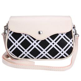 Wholesale Good Messenger Bags - Wholesale-New Good Quality Fashion Women Bags Plaid Series Crossbody Bag Messenger Shoulder Bag Satchel Tote Handbag Gift 1PC Freeshipping