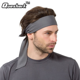 Wholesale Pink Bicycle Accessories - Wholesale- Women Men Quick dry Ciclismo Cycling Cap Fitness Headscarf Pirate Scarf Running Headband MTB Bike Racing Bicycle Gym Sweatband