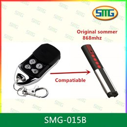 Wholesale Garage Remote Control Free Shipping - Wholesale- 1X SOMMER remote control for Garage door, 868MHz remote control ,compatible SOMMER free shipping