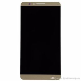 Wholesale Monitor Test Screens - For Huawei Honor Mate7 lcd - 100% Tested Display Monitor + Touch Panel Digitizer full Assembly high quality + free repairing tools