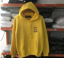 Wholesale Paul Hoodies - Hip Hop Kanye West Feel Like Kobe Pablo Hoodie Men Pull Paris Opening Hour I feel Like Paul Fleece Sweatshirts