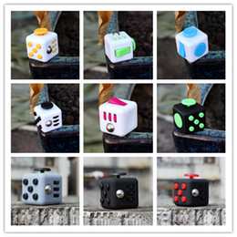 2016 Pre Sell Novelty Fidget Cube Toy Stress Relief Focus For Adults and Children Decompression Anxiety Toys christmas Gifts fast shipping Coupon