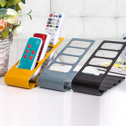 Wholesale TV DVD VCR Frame Step Remote Control Mobile Phone Holder Stand Home Organizer Storage Boxes Organiser