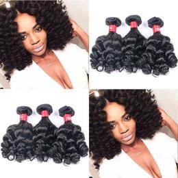 2019 естественное скручивание 16 дюймов Нигерия необработанные тетя Фунми волос плетение упругие кудри 100% бразильский девственница человеческих волос 3 пучки 10 дюймов естественный цвет 95-100 дешево естественное скручивание 16 дюймов