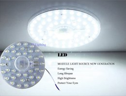 Runde pcb geführt online-1 STÜCK Runde platine led modul 12 watt 18 watt 24 watt 36 watt Ersetzen deckenleuchte WEIß / WARM WEIß licht nachrüsten