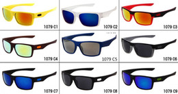 Wholesale Red Titanium - Brand summer men Bicycle Glass driving sunglasses cycling glasses women and man nice glasses goggles 9colors A+++ free shipping