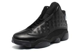 Wholesale Fashio Men - 2016 Fashio Retro 13 Basketball Shoes for men Sneakers Black hot sale cheap 13s men shoes fashion j13 man trainers US8-13