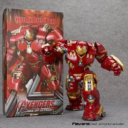 "Wholesale Avengers 26cm - Crazy Toys Avengers Age Of Ultron Hulkbuster Mark 44Pvc Action Figure Collectible Model Toy 10"" 26Cm Hrfg 485"