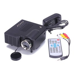 Wholesale Manual Atv - Wholesale-Mini Projector 3200 Lumens Home Theater HD-Ready Portable Projectors 1080P HDMI VGA DTV ATV S-video USB LED Projector tm