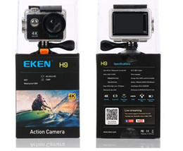 Wholesale Wholesale Used Electronics - Original EKEN H9 4K Action Camera With Case Ultra HD 4K WiFi 1080P 60fps 170 degree Cam underwater waterproof camera