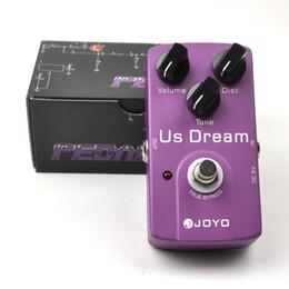 partes de transistores Rebajas JOYO Electronic Guitar Pedal de efectos de guitarra US Dream Distortion JF-34
