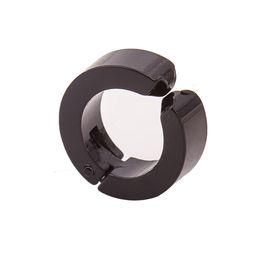Wholesale African Hoop Earrings - XS 3 Colors Available Cool Women Men's Jewelry Titanium Round Ear Clip on No Piercing Single Hoop Earrings Brincos Wholesale