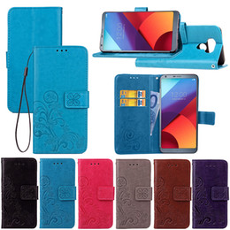 Wholesale Iphone Leather Case Stylus - Case For LG G6 LV5 K10 LV3 K8 LITE K10 Stylus 2 plus V20 K6P Tribute HD ls775 Soft TPU Wallet Leather Cases