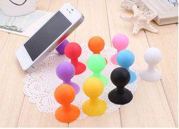 Wholesale Octopus Phone Sucker - New design innovative items multipurpose cute fashion octopus Holder Stand Sucker bracket for mobile Phone tablet Can do cable winder