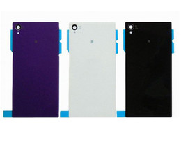 Wholesale Battery For Xperia - New Fashion Back Door Battery Glass Cover Case For Sony Xperia Z2 L50W D6502 D6503