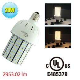 Wholesale Led E27 Lm - LED Corn Light Bulb Lamp 20W E27 2835 SMD 110V 220V 360 Degree Warm Pure Cool White LED Light Lumen 2953 Lm