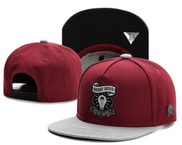 Wholesale Snapback Wine Red - BRIGHT IDEAS CAYLER & SONS snapbacks Hats snapback caps Cayler and sons street hat baseball hats wine red grey top quality TYMY 526