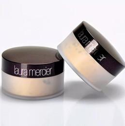 Conjuntos de maquillaje profesional online-Alta calidad translúcida laura merci maquillaje suelto en polvo maquillaje 3 colores profesional Pouder Libre Fixante aclarar corrector
