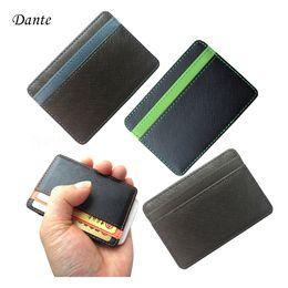 Wholesale Magic Purses - Wholesale- New arrival High quality leather men wallets magic wallets Fashion men credit card holder card purse hot sale promotion FGS01