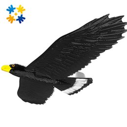 Wholesale Wholesale Foam Glider - Wholesale- Children Outdoor Toy Hand Launch Throwing Glider Aircraft Inertial Foam Glider Shark Eagle Dragon Model Flying Toy For Kids Gift