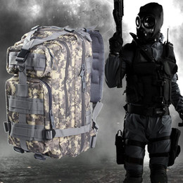 Wholesale Tactical Backpacks For Men - Hot Sell 3P Military Tactical Backpack Assault Travel Bags for Men Oxford Sport Bag 30L for Camping Traveling Hiking Trekking