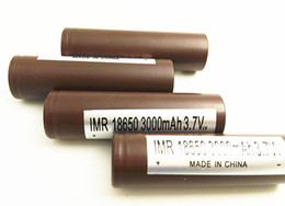Wholesale Electric Bicycle Wholesale - HG2 18650 Battery electric bicycle battery For HG2 Lithium Batteries VS Sony VTC5 VTC4 HG2 HE4 Battery Fedex Free Shipping.