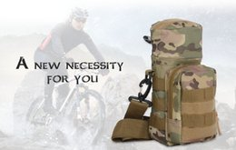 Wholesale Table Tennis Pouch - Molle Oxford Water Bottle Pouch Water-repellent Zipper Camo Water Bottle Tactical Pack High Quality Bag for Travel +B