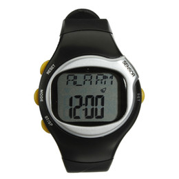 Wholesale Help Watch - Wholesale- Professional Fitness Heart Rate Watch Monitor Digital Watch Sport Pulse Watch WIth Calorie Counter Weightloss Help