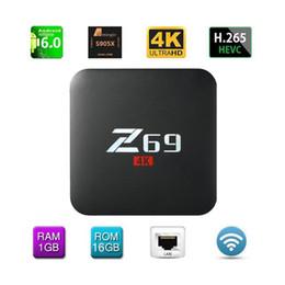 2019 mx tv box quad core Android 6.0 Smart TV Box Streaming 4K Ultra HD WiFi Bluetooth 4.0 Media Player avec emballage au détail