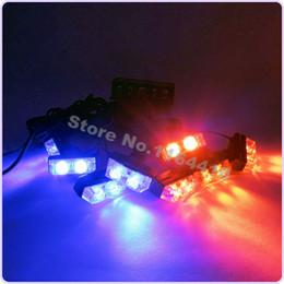 Führte notlichtregler online-Neues Set aus 16 LED 16LED-Notröhrenblitzlicht 8 Blinkmodi Grill-Warnlampe Auto mit DRL-Controller Ultra Bright 12V