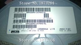 2019 kondensator blau 1000 teile / los CAP CER 47UF 16 V X5R 1210 47UF 16 V 1210 476 16 V 10% Neu und original Auf Lager GRM32ER61C476KE15L