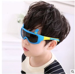 Wholesale Sun Goggles For Children - 2017 New Children TAC Polarized Sunglasses TR90 Kids Designer Sport Shades For Girls Boys Goggle Baby UV400 Sun Glasses