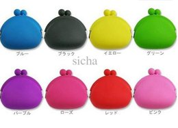 Wholesale Silicone Money Bag - best coin bag coin purse silicone money bag  puse Japanese style coin wallet POCHI