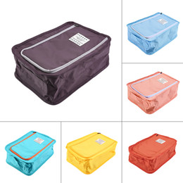 Wholesale Multifunction Cloth Organizer - Multifunction Storage Bag Portable Waterproof Travel Zipper Shoe Makeup Cloth Organizer