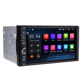 "chino pantalla grande tv Rebajas 7 ""Pantalla táctil Quad Core Android 6.0 Coche DVD Multimedia 2G RAM 32G ROM Radio RDS BT GPS Navi Estéreo OBD DVR Pantalla de espejo WIFI 4G PIP RDS"