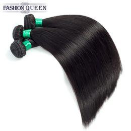 Brasiliani vergini capelli economici non trasformati capelli umani Bundles fabbrica peruviana indiana capelli malesi tessitura estensione doppia trama da