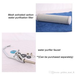Wholesale Remove Odor - Household water purifier tap Tri-tap +compressed activated carbon water Filter element, remove the odor can be purchased separately