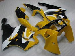 Wholesale 1998 Kawasaki Zx7r - ABS Fairing Zx7r 1996 Body Kits Zx-7r 1998 Yellow White Black Bodywork Zx 7r 02 03 1996 - 2003