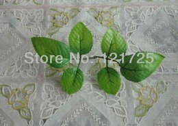 Wholesale Rose Wedding Ideas - decorating ideas plants artificial rose leaves for home decoration,green leaves artificial plants for vines decorative plant stakes