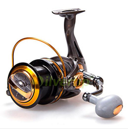 Wholesale Long Cast - Big Game Spinning Fishing Reel 12+1 BB YOMORES TF 8000-11000 Series Long Cast Shot Saltwater Max Drag Sea Boat Spinning Fishing Reel