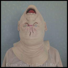 зомби-маски Скидка 2017 новый призрак зомби Маска Хэллоуин полная голова День Всех Святых латекс жуткий страшно маска ужас монстр маска