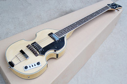 Wholesale Electric Bass Hollow - ALL NEWBB-2 4-string four-string electric bass wood color tiger pattern veneer body